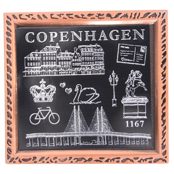 Magnet København Sort Og Hvid