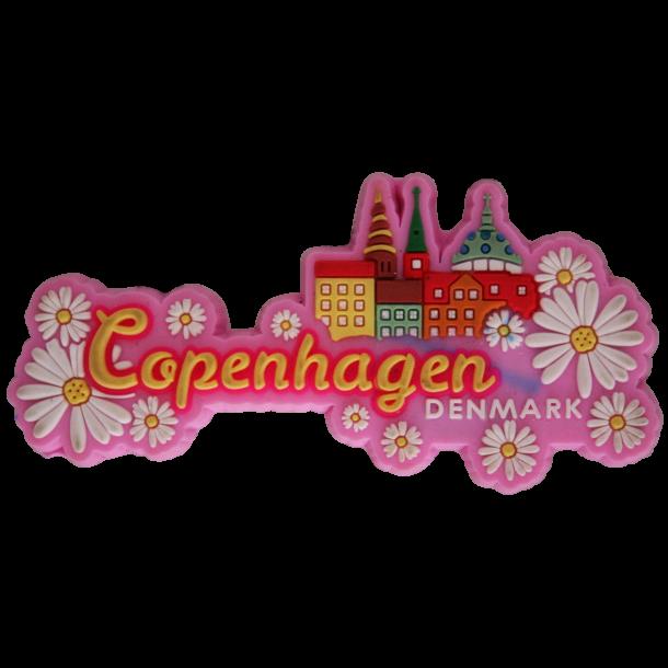 Magnet Denmark Blomster Pink