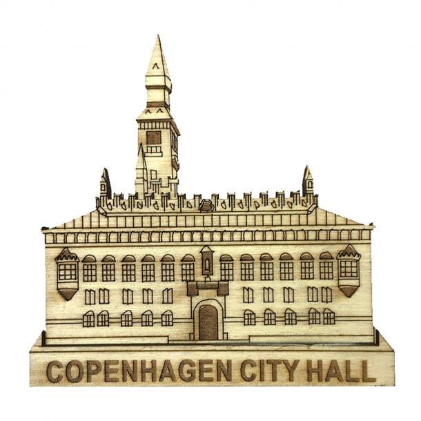 Magnet Københavns Rådhus Træ
