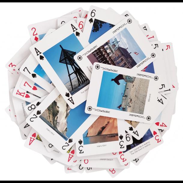 Spillekort Danmark Motiver