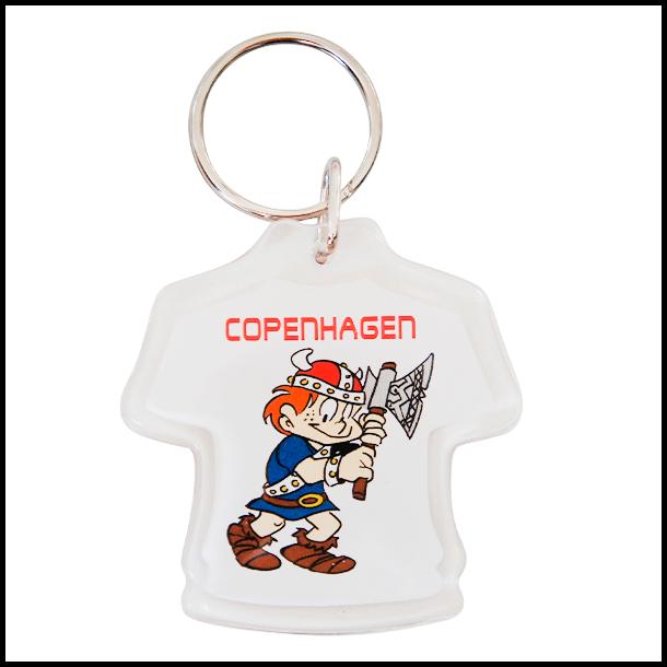Nøglering med Copenhagen viking trøje