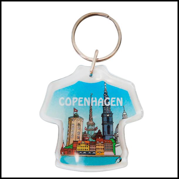 Nøglering Copenhagen Skyline Trøje