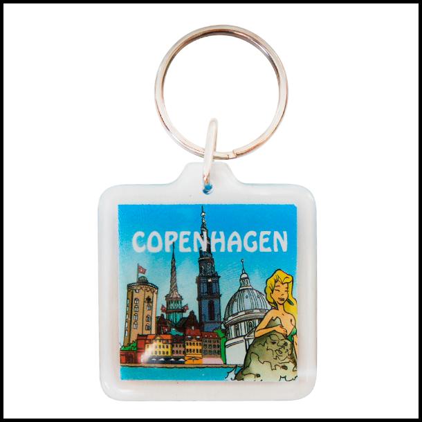 Nøglering Copenhagen Skyline