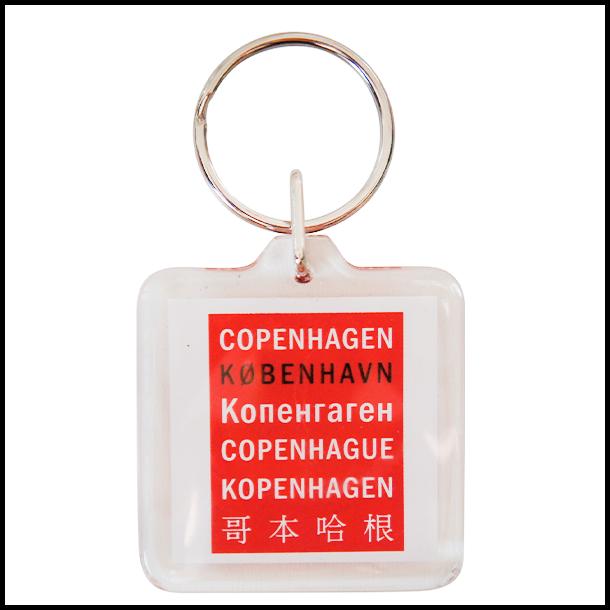 Nøglering Copenhagen Sprog
