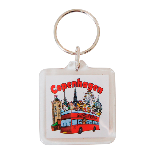 Nøglering Copenhagen Turisme