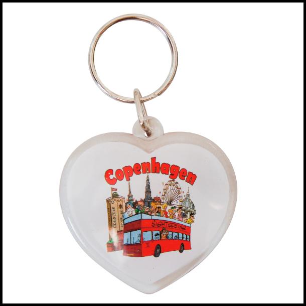 Nøglering Copenhagen Turisme Hjerte