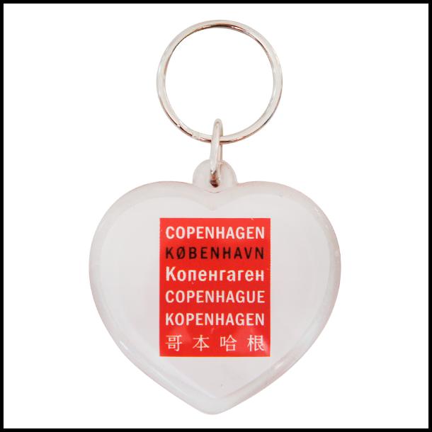 Nøglering Copenhagen Sprog Hjerte