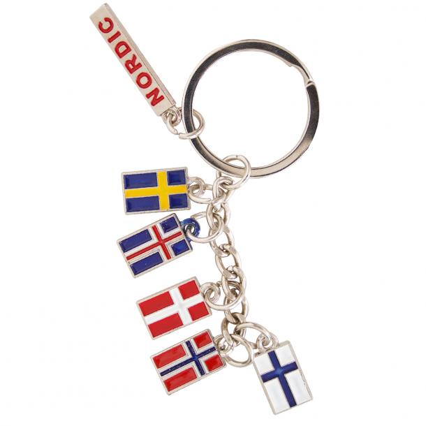 Nøglering Nordic Vedhæng