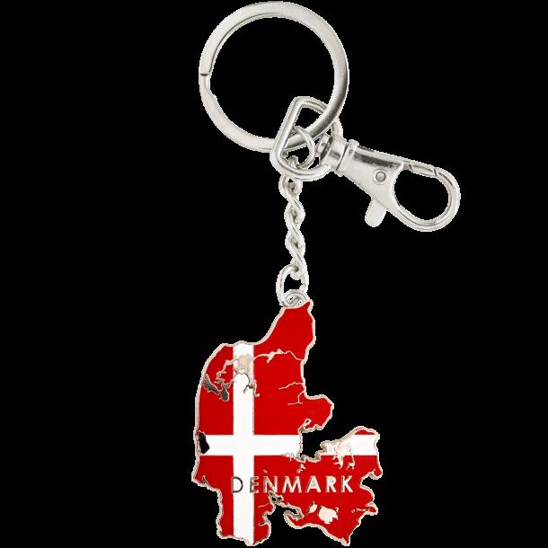 Nøglering Danmarkskort