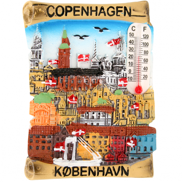 Magnet Copenhagen Skyline
