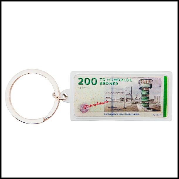 Nøglering 200 DKK