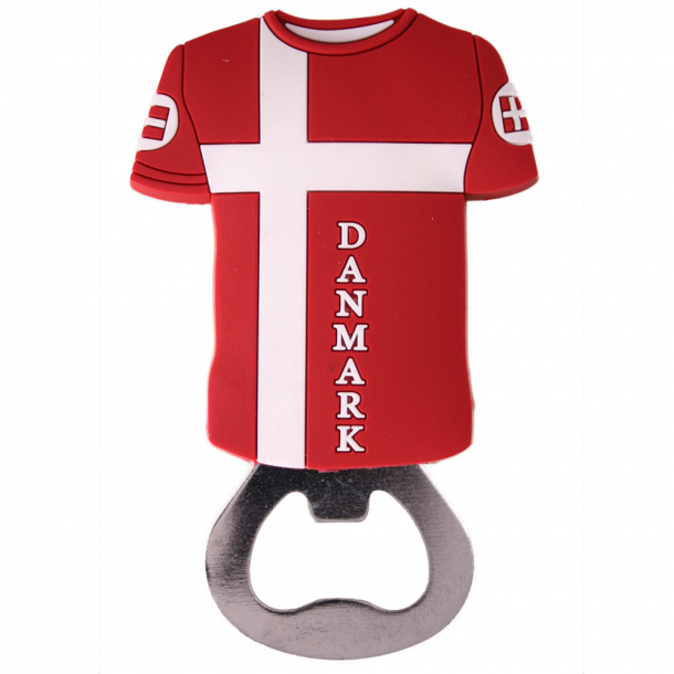 Oplukker Og Magnet Flag T-shirt PVC