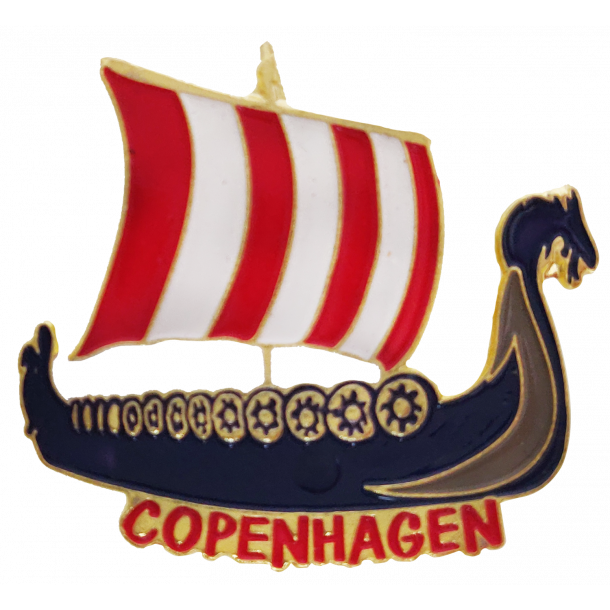 Pin Vikingeskib