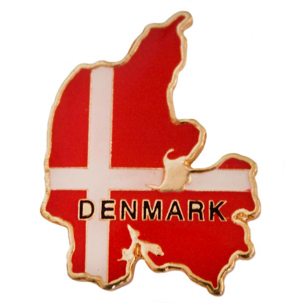 Pin Kort Og Flag