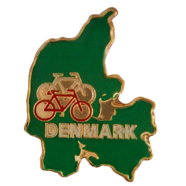 Pin Kort Og Cykel