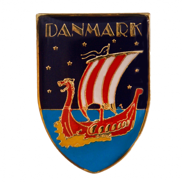 Pin Vikingskib Nat