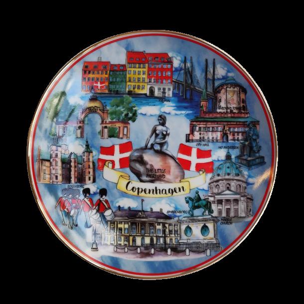 Platte København Attraktioner 11 cm.