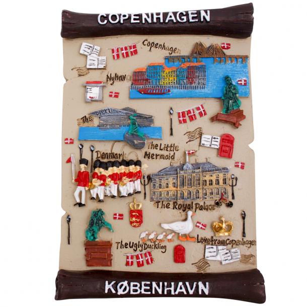 Billede København Beige Gips