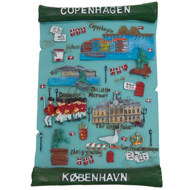Billede København Grøn Gips