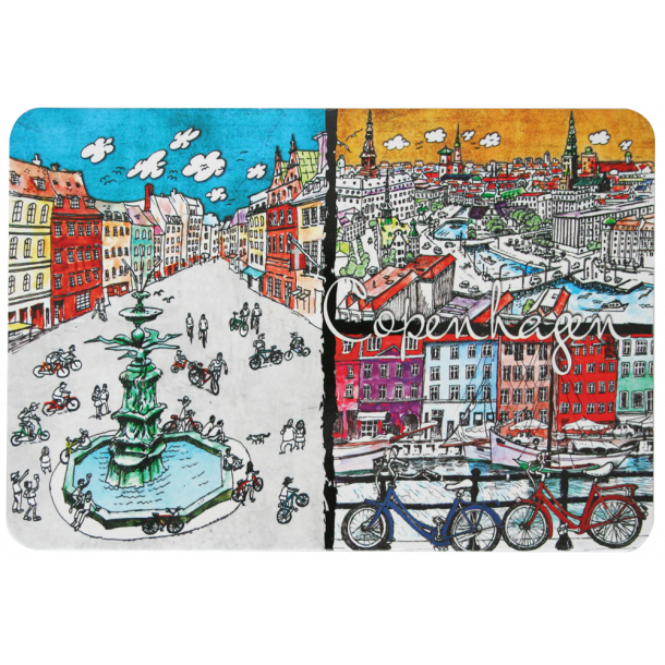 Postkort Copenhagen