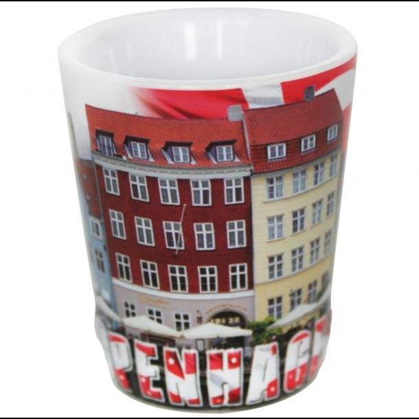 Snapseglas Copenhagen Relief