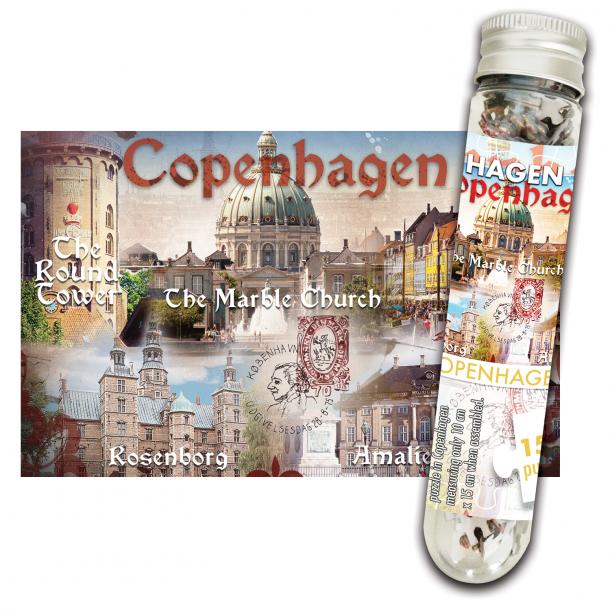 Minipuslespil I Rør CPH Collage