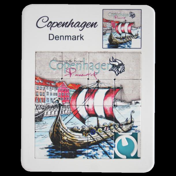 Puslespil Nyhavn Vikingeskib