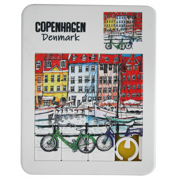 Puslespil Nyhavn Cykler