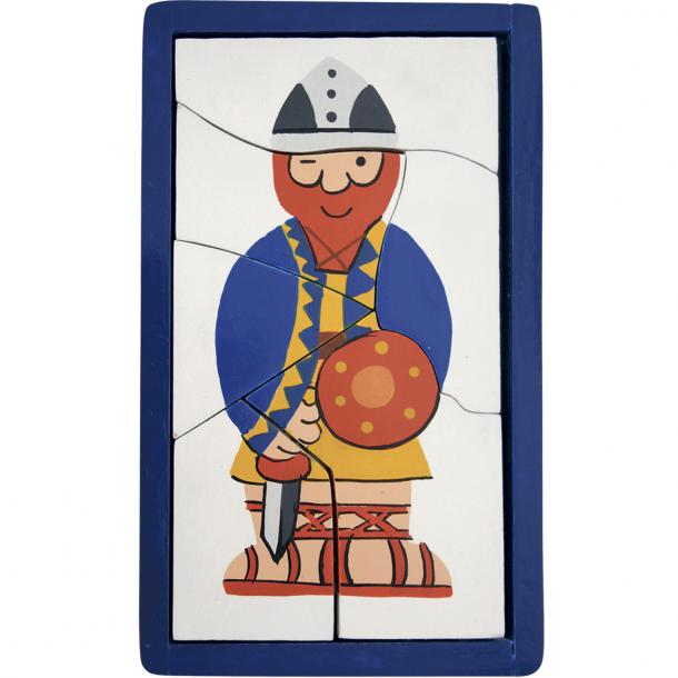 Puslespil Viking Blå