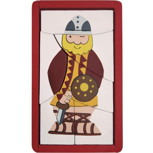 Puslespil Viking Rød