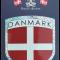 Klistermærke Danmark Flag