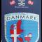 Klistermærke Danmarkskort
