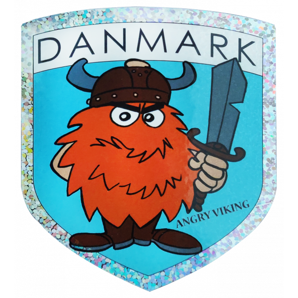 Klistermærke Angry Viking