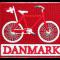 Stofmærke Cykel Firkantet