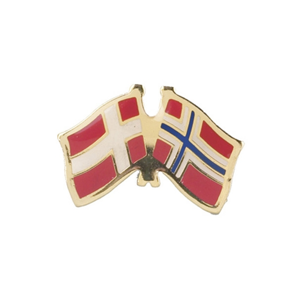 Pin Flag Danmark/Norge