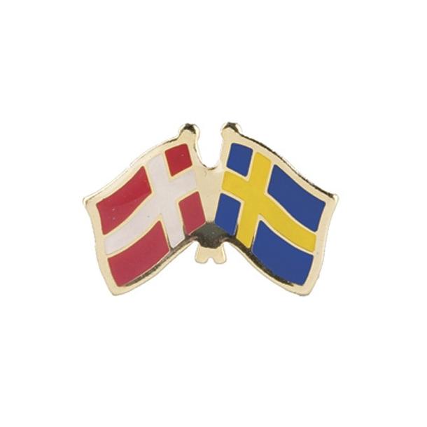 Pin Flag Danmark/Sverige