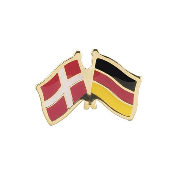 Pin Flag Danmark/Tyskland