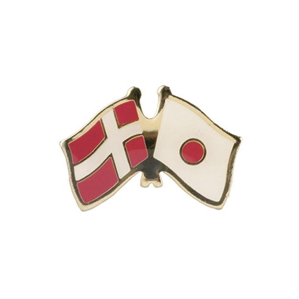 Pin Flag Danmark/Japan