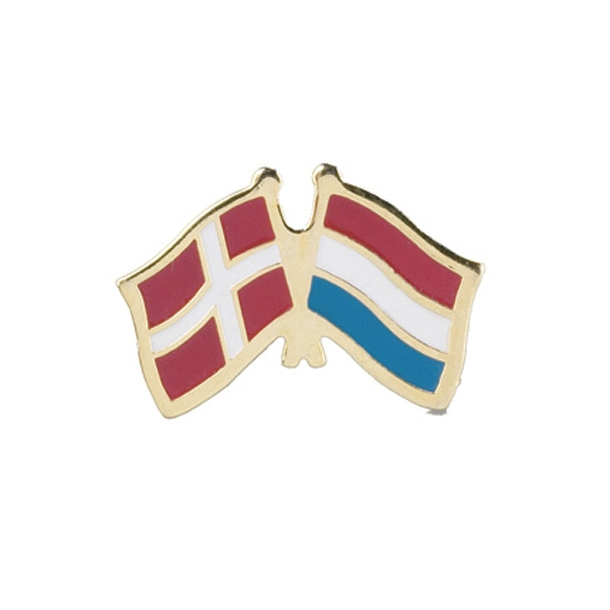 Pin Flag Danmark/Holland