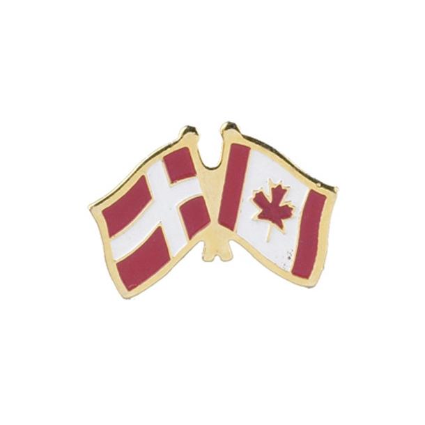 Pin Flag Danmark/Canada