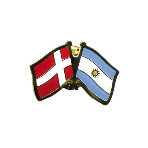Pin Flag Danmark/Argentina