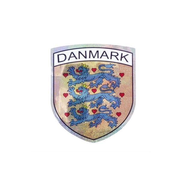 Klistermærke Danmarks Rigsvåben