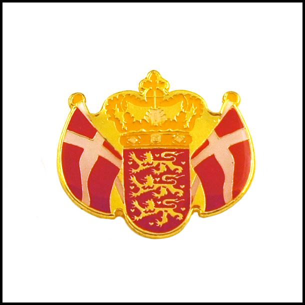Pin Våbenskjold Og Flag