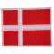 Stofmærke Flag Stor