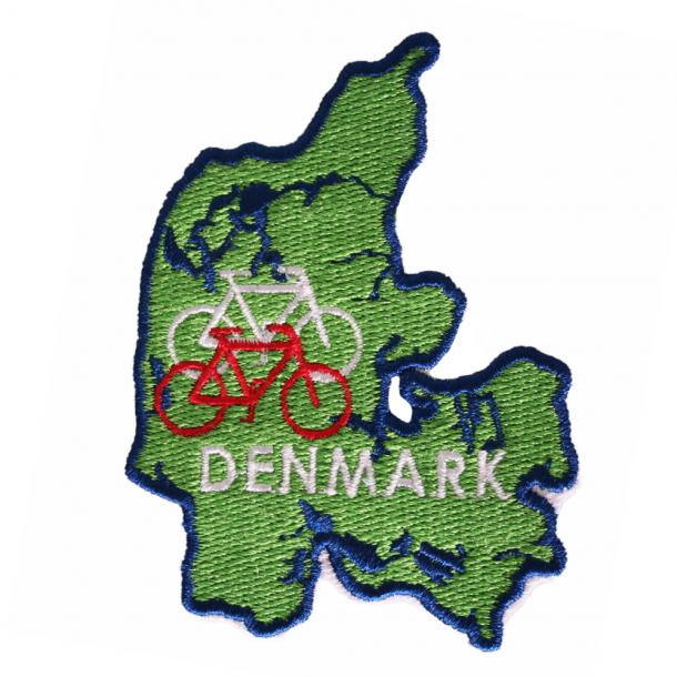 Stofmærke Danmarks Og Cykel