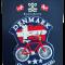 Stofmærke Cykel Faded Flag