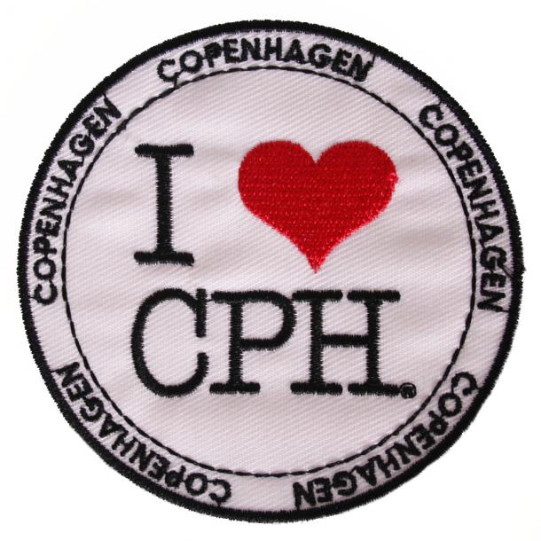 Stofmærke I Love CPH