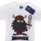 T-shirt Angry Viking Sort