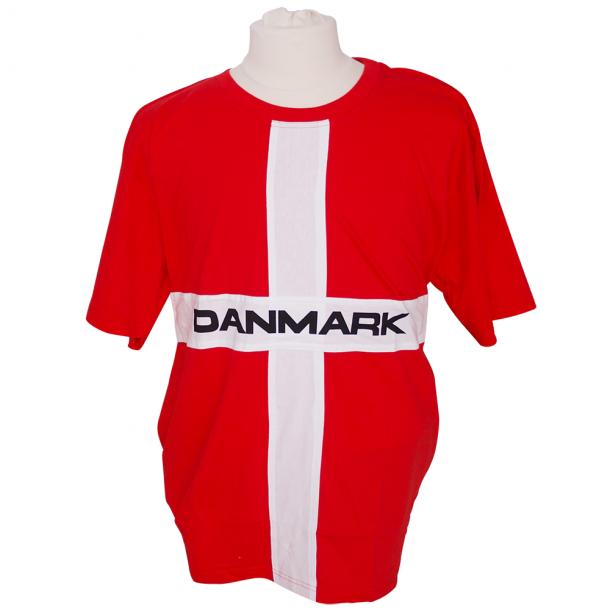 T-shirt Danmark Flag Voksen