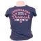 T-shirt Pink Og Navy